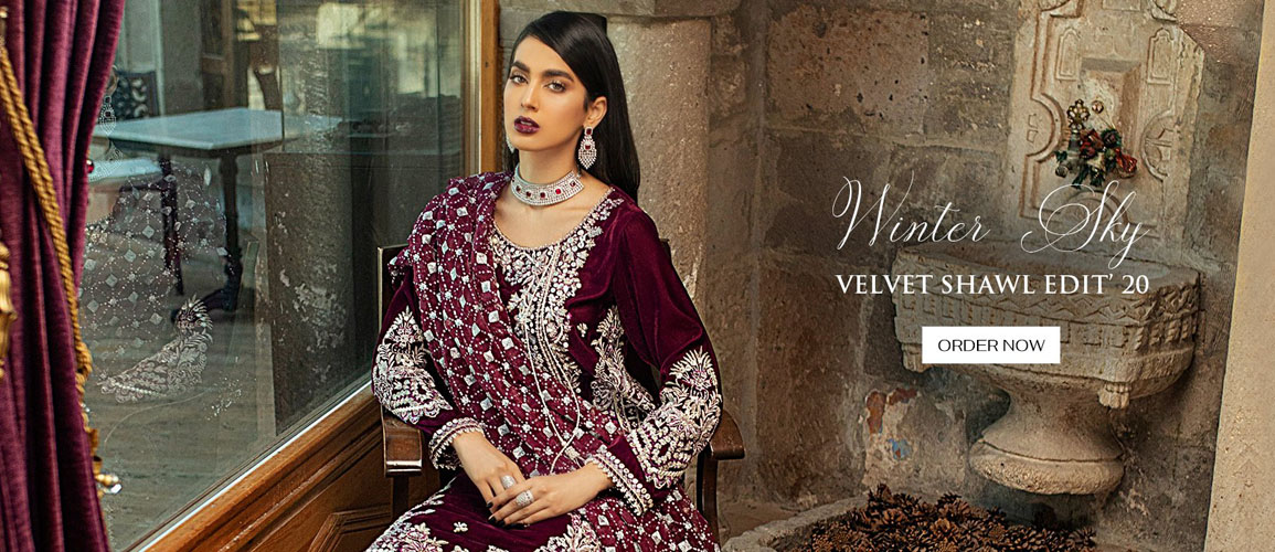 Mushq Velvet Winter Collection 2021