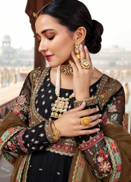 Dastan-e-Jashan By Charizma Embroidered Chiffon Unstitched 3 Piece Suit D 05 Mehrunisa – Luxury Collection