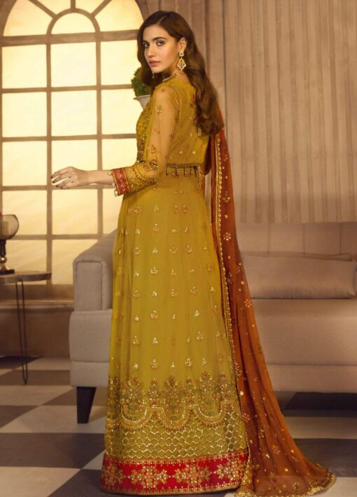 Noor-e-Rang By Zarif Embroidered Chiffon Unstitched 3 Piece Suit 02 Naghma – Luxury Collection