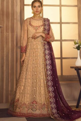 Noor-e-Rang By Zarif Embroidered Chiffon Unstitched 3 Piece Suit 08 Andaaz – Luxury Collection