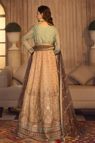 Noor-e-Rang By Zarif Embroidered Chiffon Unstitched 3 Piece Suit 09 Falak – Luxury Collection