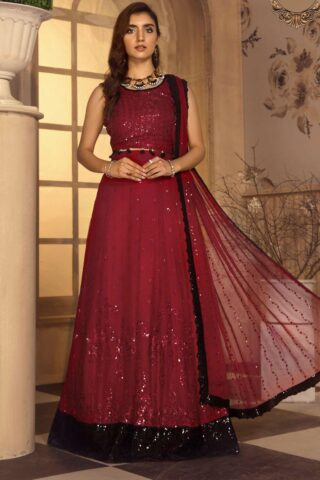 Noor-e-Rang By Zarif Embroidered Chiffon Unstitched 3 Piece Suit 12 Afreen – Luxury Collection