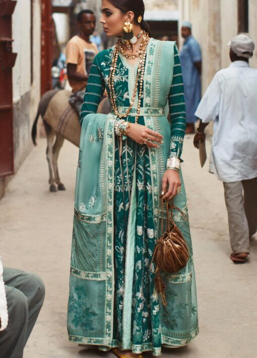 Elan Luxury Lawn Unstitched 3 Piece Suit ELL20 10 A AMANA – Lawn Collection