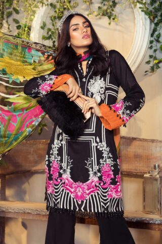 Mprints by Maria B Printed Lawn Unstitched 3 Piece Suit 06 B – Summer Collection
