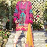 Mprints by Maria B Printed Lawn Unstitched 3 Piece Suit 08 B - Summer Collection