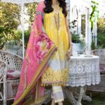 Mprints by Maria B Printed Lawn Unstitched 3 Piece Suit 09 A - Summer Collection