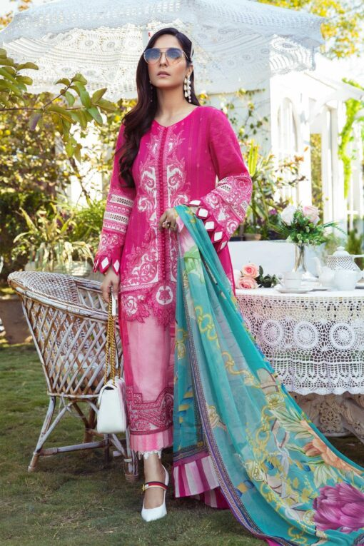 Mprints by Maria B Printed Lawn Unstitched 3 Piece Suit 09 B – Summer Collection