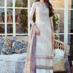 Mprints by Maria B Printed Lawn Unstitched 3 Piece Suit 10 A - Summer Collection