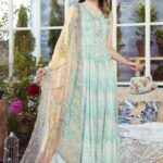 Mprints by Maria B Printed Lawn Unstitched 3 Piece Suit 10 B - Summer Collection