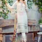 Mprints by Maria B Printed Lawn Unstitched 3 Piece Suit 11 A - Summer Collection
