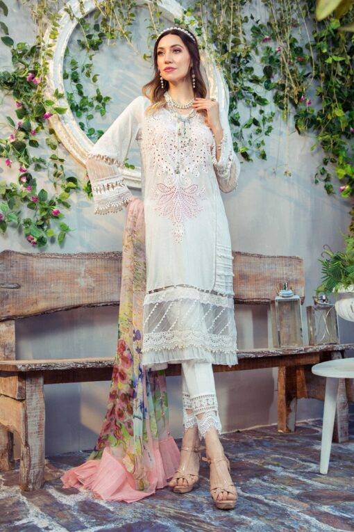 Mprints by Maria B Printed Lawn Unstitched 3 Piece Suit 11 A – Summer Collection