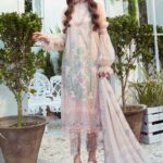 Mprints by Maria B Printed Lawn Unstitched 3 Piece Suit 12 A - Summer Collection