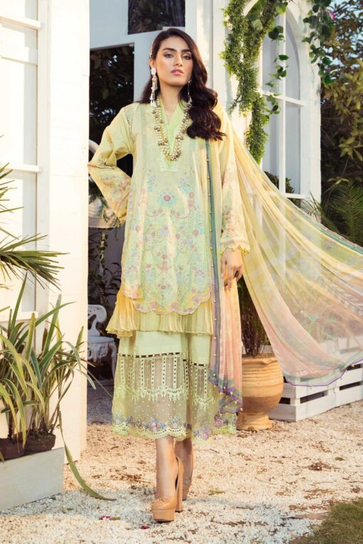 Mprints by Maria B Printed Lawn Unstitched 3 Piece Suit 12 B – Summer Collection