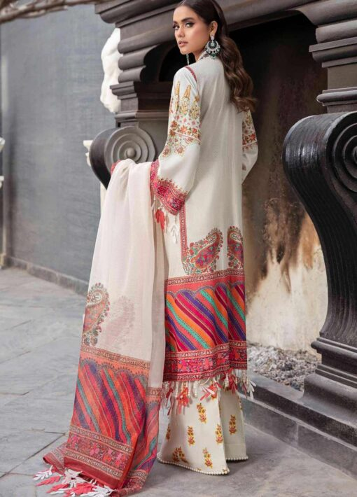 Sana Safinaz Embroidered Lawn Unstitched 3 Piece Suit 03-B – Summer Collection