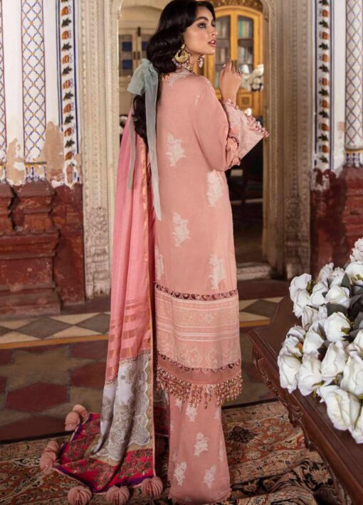 Sana Safinaz Embroidered Lawn Unstitched 3 Piece Suit 08-A – Summer Collection