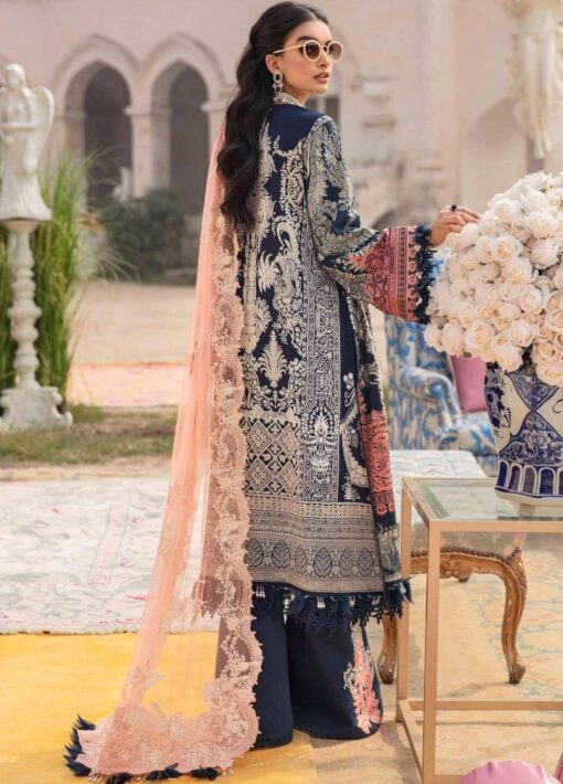 Sana Safinaz Embroidered Lawn Unstitched 3 Piece Suit 11-B – Summer Collection