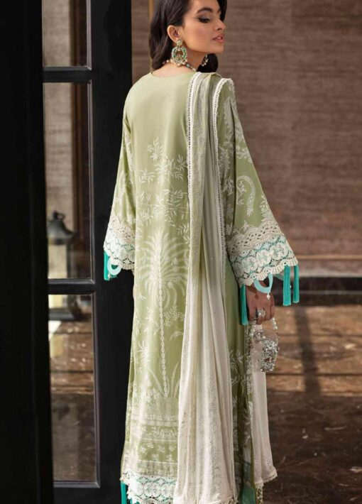 Sana Safinaz Embroidered Lawn Unstitched 3 Piece Suit 14-B – Summer Collection