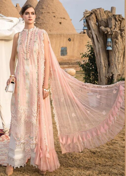 Maria B Embroidered Woven Yarn Unstitched 3 Piece Suit 10 B – Summer Collection