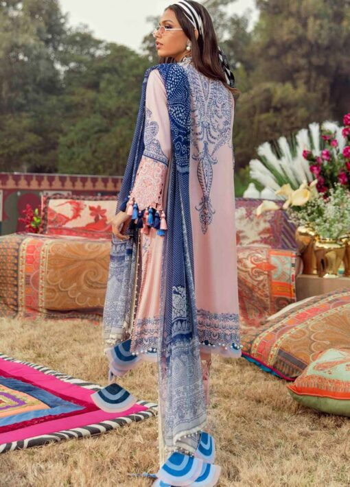 Muzlin by Sana Safinaz Embroidered Lawn Unstitched 3 Piece Suit 03A – Summer Collection