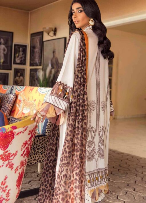 Muzlin by Sana Safinaz Embroidered Lawn Unstitched 3 Piece Suit 07B – Summer Collection