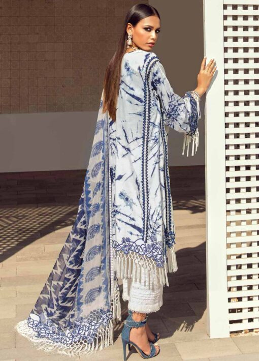 Muzlin by Sana Safinaz Embroidered Lawn Unstitched 2 Piece Suit 10A – Summer Collection