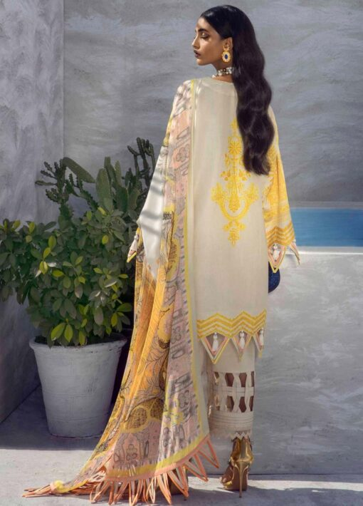 Muzlin by Sana Safinaz Embroidered Lawn Unstitched 3 Piece Suit 15B – Summer Collection