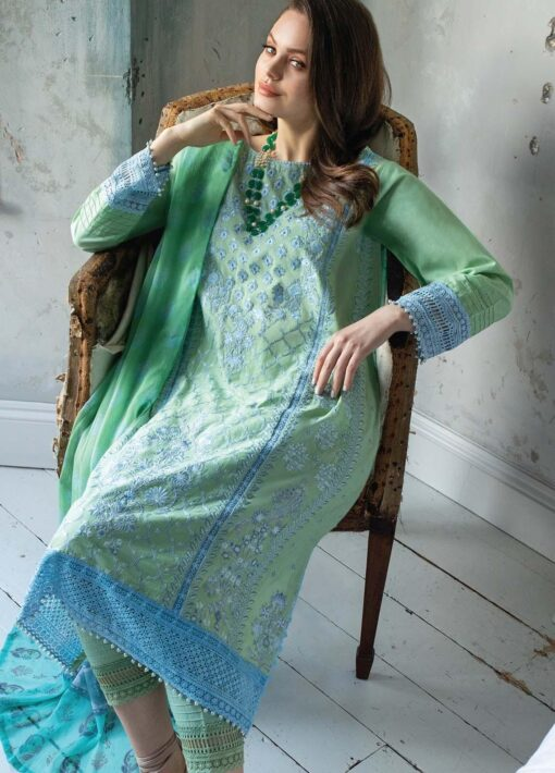 Vital by Sobia Nazir Embroidered Lawn Unstitched 3 Piece Suit 01A – Summer Collection