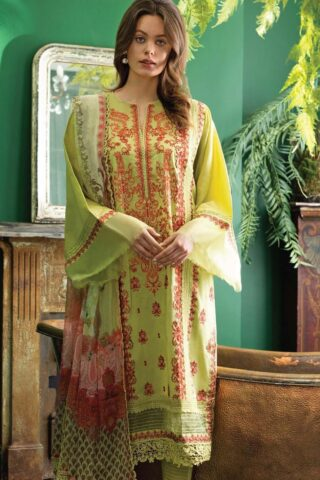 Vital by Sobia Nazir Embroidered Lawn Unstitched 3 Piece Suit 02A – Summer Collection