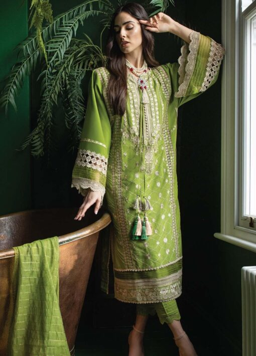 Vital by Sobia Nazir Embroidered Lawn Unstitched 3 Piece Suit 03B – Summer Collection