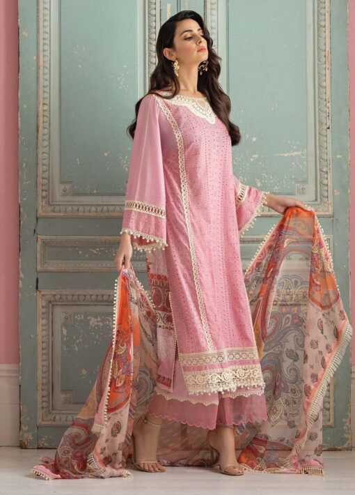 Vital by Sobia Nazir Embroidered Lawn Unstitched 3 Piece Suit 05B – Summer Collection