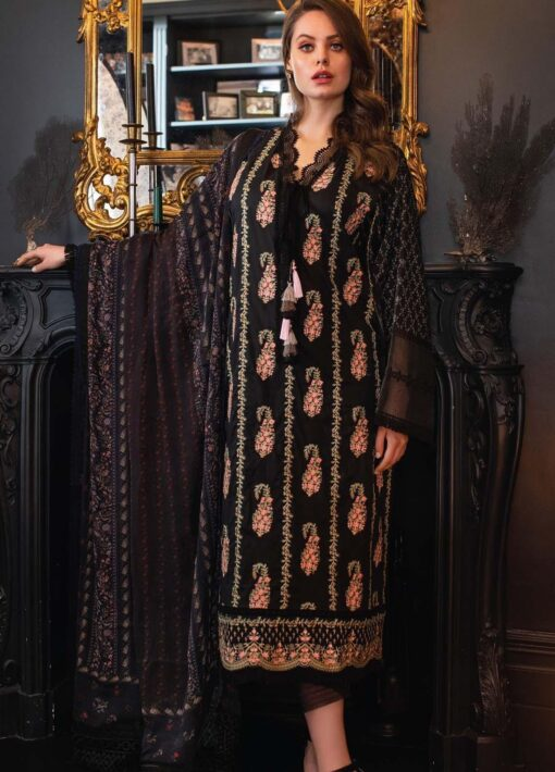 Vital by Sobia Nazir Embroidered Lawn Unstitched 3 Piece Suit 06A – Summer Collection