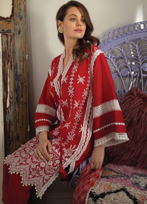 Vital by Sobia Nazir Embroidered Lawn Unstitched 3 Piece Suit 08B – Summer Collection