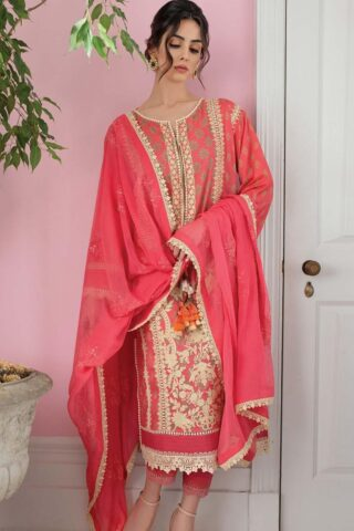 Vital by Sobia Nazir Embroidered Lawn Unstitched 3 Piece Suit 09B – Summer Collection