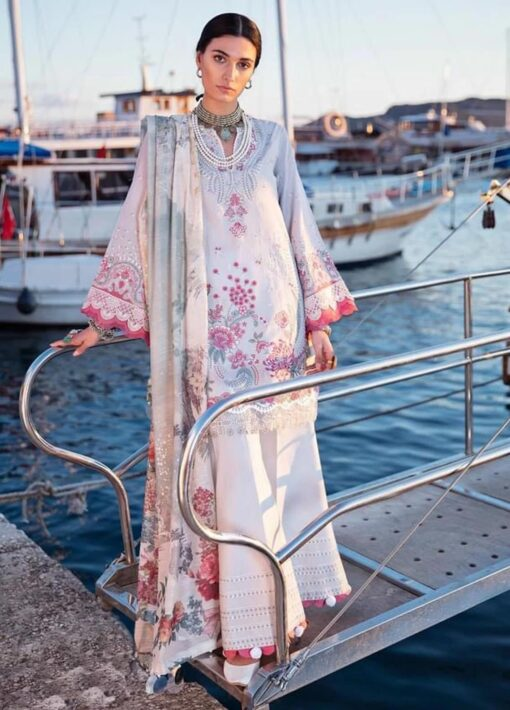 Selene By Republic WomensWear Embroidered Luxury Lawn Unstitched 3 Piece Suit 11B Celal – Summer Collection