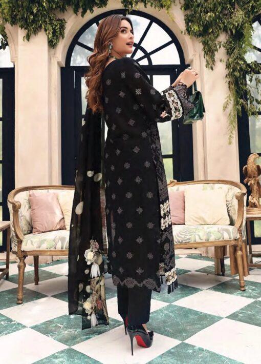 Elaf Schiffli Embroidered Lawn Unstitched 3 Piece Suit 2021 01 B – Luxury Collection