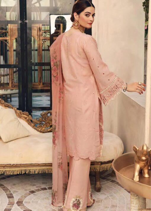 Elaf Schiffli Embroidered Lawn Unstitched 3 Piece Suit 2021 03 – Luxury Collection