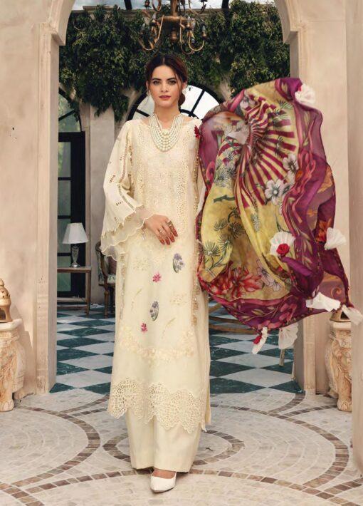 Elaf Schiffli Embroidered Lawn Unstitched 3 Piece Suit 2021 10 – Luxury Collection