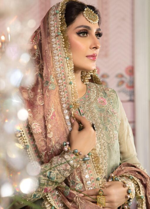 Maria B Embroidered Organza Unstitched 3 Piece Suit 2021 D 05 – Luxury Collection
