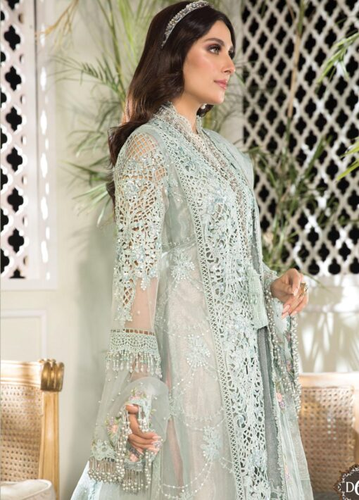 Maria B Embroidered Organza Unstitched 3 Piece Suit 2021 D 06 – Luxury Collection