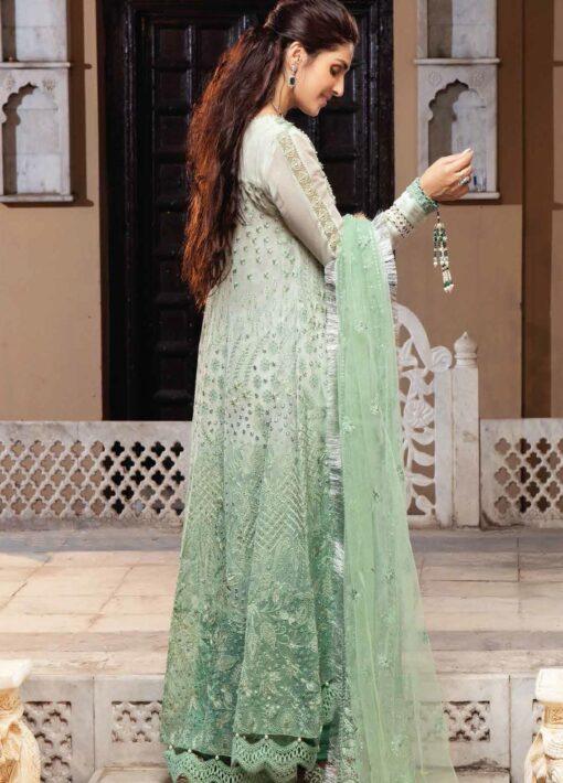 Mushq Chikankari Cotton Net Unstitched 3 Piece Suit 2021 06 GAUHAR – Festive Collection