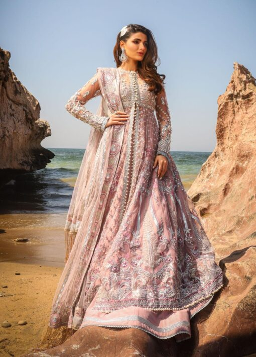 Alif by AJR Couture Embroidered Chiffon Unstitched 3 Piece Suit 07 – Wedding Collection