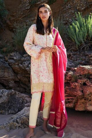 Coco by Zara Shahjahan Embroidered Lawn Unstitched 3 Piece Suit 2021 05 – A  – Luxury Collection