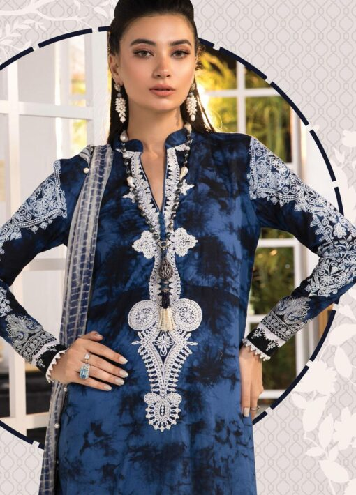 Mprints by Maria B Printed Lawn Unstitched 3 Piece Suit 2021 1106 B – Summer Collection