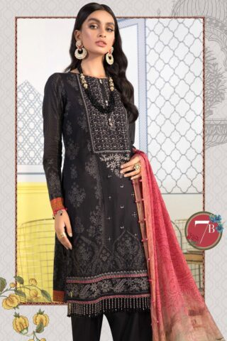 Mprints by Maria B Printed Lawn Unstitched 3 Piece Suit 2021 1107 B – Summer Collection