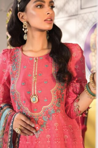 Mprints by Maria B Printed Lawn Unstitched 3 Piece Suit 2021 1111 B – Summer Collection