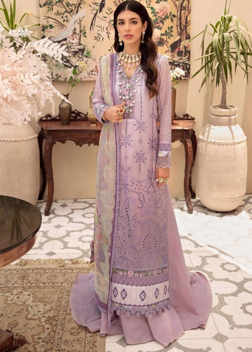 Noor by Sadia Asad Embroidered Lawn Unstitched 3 Piece Suit 2021 05 – Summer Collection