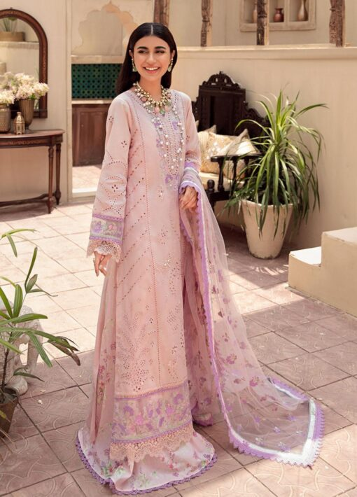 Noor by Sadia Asad Embroidered Lawn Unstitched 3 Piece Suit 2021 06 – Summer Collection