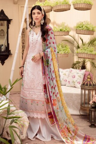 Noor by Sadia Asad Embroidered Lawn Unstitched 3 Piece Suit 2021 07 – Summer Collection
