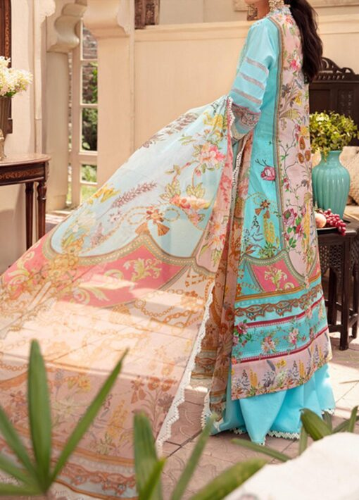 Noor by Sadia Asad Embroidered Lawn Unstitched 3 Piece Suit 2021 08 – Summer Collection