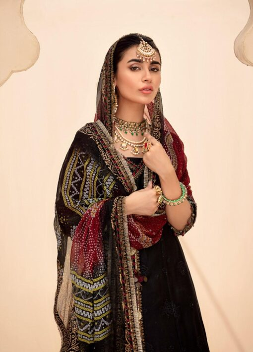 Noor by Sadia Asad Embroidered Lawn Unstitched 3 Piece Suit 2021 10 – Summer Collection